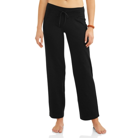Athletic Works Women's Athleisure Dri-More Core Relaxed Fit Workout Pant