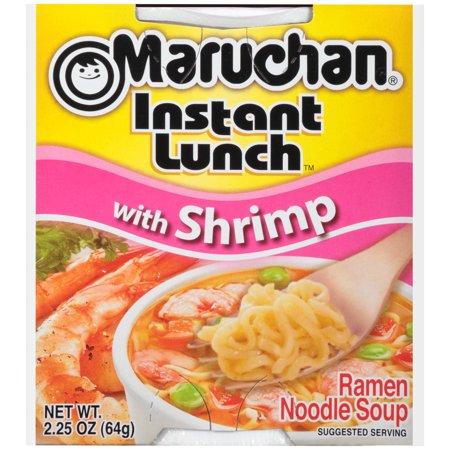Maruchan Instant Lunch W Shrimp Instant Lunch 2 25 Oz Walmart Com