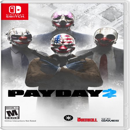 Payday 2, 505 Games, Nintendo Switch, (Payday 2 Best Guns)