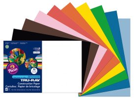 Pacon Construction Paper Assorted Colors 12 X 18 Walmartcom