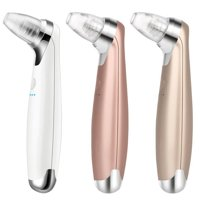 WALFRONT Electric Blackhead Suction Removal, Portable LED Light Acne Pore Cleaner Device 3 Colors Skin Care Lifting Cleaner Tool