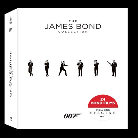 The James Bond Collection (Blu-ray)