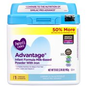 Parent's Choice HMO & Non-GMO Advantage Infant Formula, 35 oz