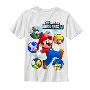 f87875d4 Nintendo Boys' New Super Mario Bros U T-Shirt