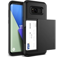 Samsung Galaxy S8 Case Cover | Protective Wallet with Card Slots | VRS Design Damda Glide for Samsung Galaxy S8