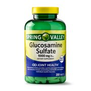 Spring Valley Glucosamine Sulfate Tablets, 1000 mg, 200 Ct