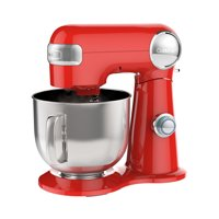 Cuisinart 5.5 Quart Stand Mixer, Coral Red