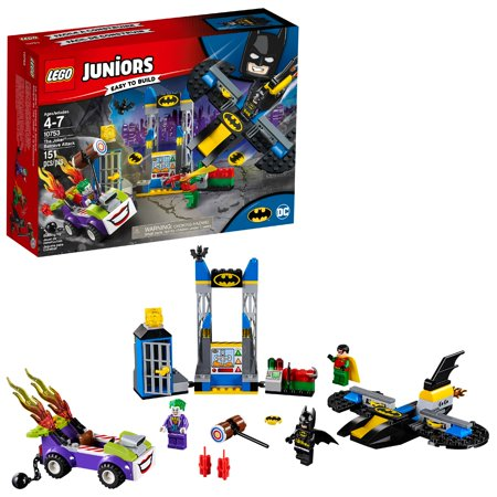 LEGO 4+ DC The Joker Batcave Attack 10753 Building Set](Lego Batman Walk)
