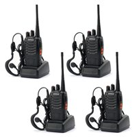 Ktaxon Lot 4 Baofeng BF-888S Long Range Walkie Talkie 400-470MHZ Two-Way Radio Intercom