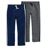 Toddler Boy French Terry Pants, 2-pack