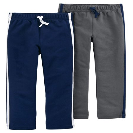Toddler Boy French Terry Pants, 2-pack ()