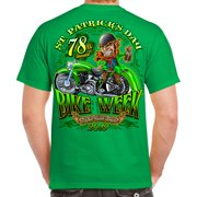 46cfdf87eb Biker Life 2019 Bike Week Daytona Beach St. Patty s T-Shirt