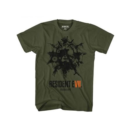 Resident Evil Talisman Military Green Adult T-Shirt Tee ()