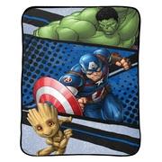 Marvel Avengers 62 x 90 Plush Blanket, 1 Each