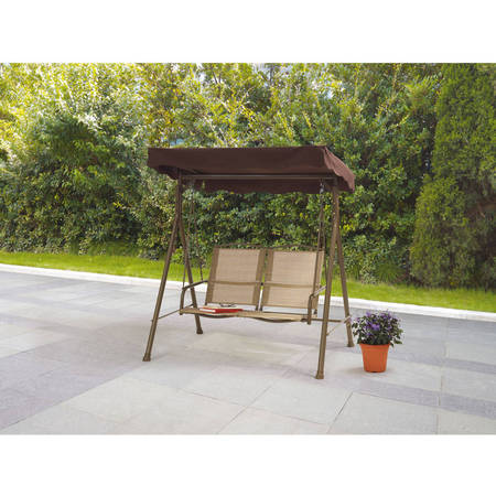 Mainstays Sand Dune 2-Seat Sling Canopy Porch