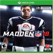 Madden NFL 18, Electronic Arts, Xbox One, 014633370034