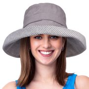 Womens Bucket Hat UV Sun Protection Packable Summer Travel Beach Cap b837a5cb60c2