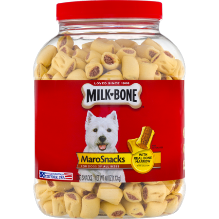 Milk-Bone MaroSnacks Dog Snacks, 40 Oz. (Redhead Bone)