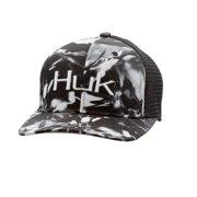 81acc738e4191 Huk Fishing Camo Trucker Stretch Fit Hat