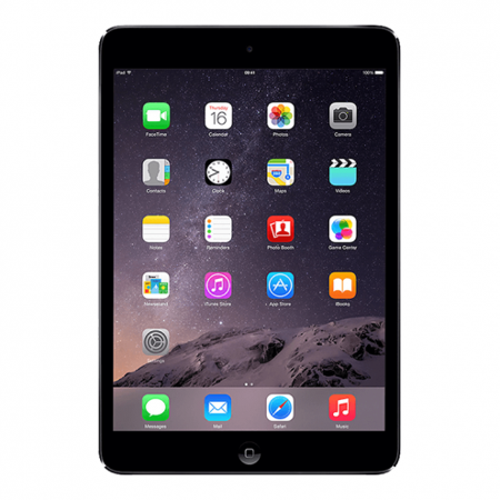 Certified refurbished Grade B Apple iPad mini with Wi-Fi 32GB - Black & Slate (Etching) (Etched Slate)
