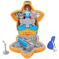 Polly Pocket Tiny Pocket Places Teeny Boppin' Concert Music Accessories Compact with Doll