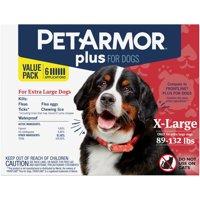 PetArmor Plus Flea & Tick Prevention for Extra Large Dogs (89-132 lbs)