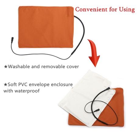 Large Waterproof Soft Pet Electric Heating Pad Heated Mat