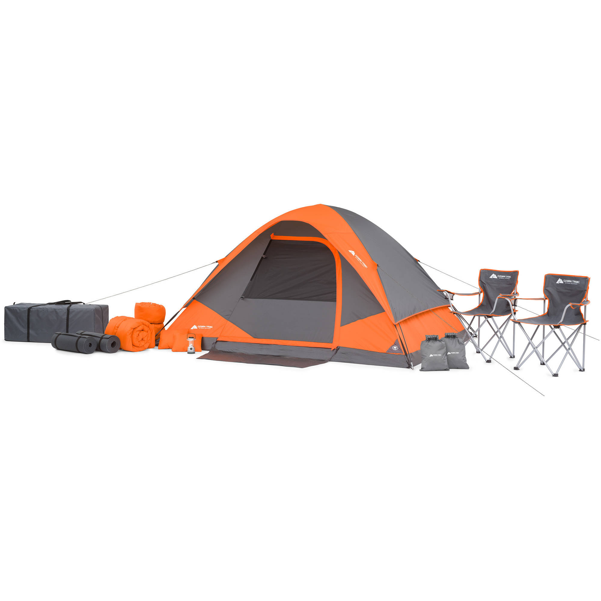 Get the 22pc Ozark Camping Set...