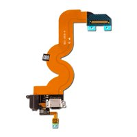 Charging Port and Headphone Jack Flex Cable for Apple iPod Touch 5 - Black (A1509, A1421)