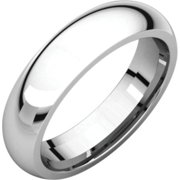 Platinum 2.5mm Comfort-Fit Band Ir6 / Platinum / 02.50 Mm / Comfort Fit Band