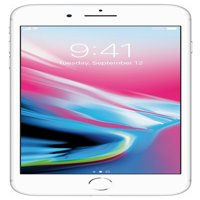 Refurbished Apple iPhone 8 Plus 64GB, Silver - Unlocked GSM/CDMA