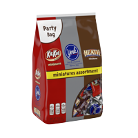 Hershey's Miniatures Party Assortment Chocolate Candy, 35.6 Oz.