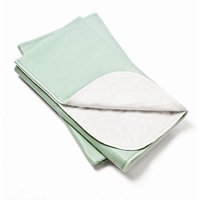 5 Pack, Bed Pad Standard Reusable Underpad Washable 34x36 Green