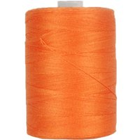Threadart Cotton Sewing Thread - 1000m Spools - 50/3 - Orang - 50 Colors Available