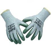 13f222517fd Pakel High Performance Non-Slip Level 5 Cut Resistant Knit Wrist Gloves  (Size 10