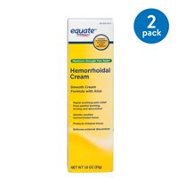 (2 Pack) Equate Maximum Strength Hemmorhoidal Pain Relief Cream, 1.8 Oz