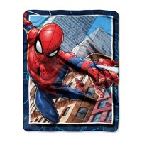 "Spider-Man, ""Neighborhood Delivery"" Silk Touch Throw Blanket, 40""x 50"""
