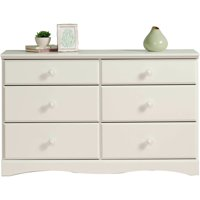 Sauder Storybook 6-Drawer Dresser, Soft White Finish