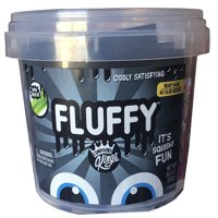 Compound Kings 3lb Fluffy Slime Bucket: Black