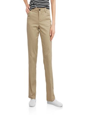 Women's Relaxed Straight Twill Pants