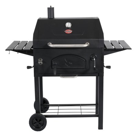 Char-Griller Traditional Charcoal Grill, Black, E2197 ...