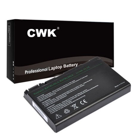 CWK Long Life Replacement Laptop Notebook Battery for Acer Aspire 5110 5112 5113 5114 5610 Series 3100 3103 5630 5650 3690 5100 5515 5610 5110 BATBL50L6H 3100 3690 3690-2196 (5630 Series)