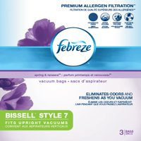 Febreze BISSELL Style 7 Vacuum Bags (3 pack) | 17F9