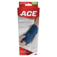 ACE Night Wrist Sleep Support, Moderate-Stabilizing, One Size Adjustable