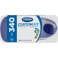 Dr. Scholl's® Custom Fit® Orthotic Inserts CF340, 1 Pair