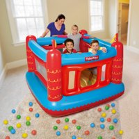 """Fisher-Price 69"""" x 68"""" x 53"""" Bouncetastic Bouncer with 50 Play Balls"""