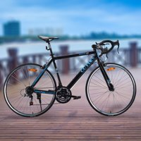 Goplus 700C 52cm Aluminum Road/Commuter Bike Bicycle 21 Speed Quick Release