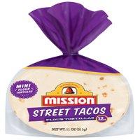 Mission Street Taco Flour Tortillas, 12 Count
