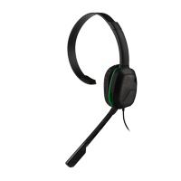PDP Xbox One Afterglow LVL 1 Chat Headset, Black, 048-040