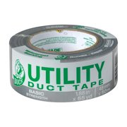 Utility Duck Tape Brand Duct Tape, Silver, 1.88 In. x 55 Yd.